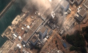 Aerial Viiew of Fukushima I